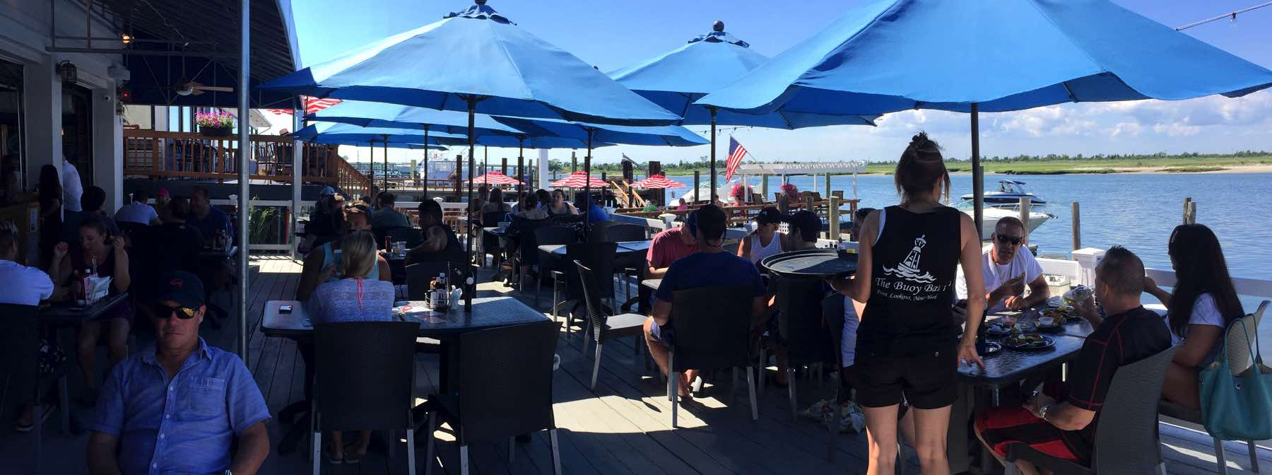The Buoy Bar Waterfront Dining On The South Shore Of Long Island